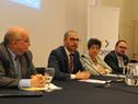 Prosecretario de Presidencia, Juan Andrés Roballo, haciendo uso de la palabra