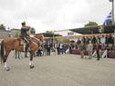 Tabaré Vázquez en acto por 221.º aniversario del Regimiento de Blandengues de Artigas