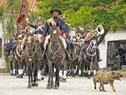 Desfile del Regimiento de Blandengues de Artigas