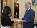 Embajadora de la República de Armenia, Estera Mkrtumyan