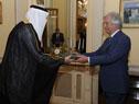 Embajador del Reino de Arabia Saudita, Riyad Saud Alkhenene