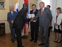 Embajador de la República de Bulgaria, Andrey Tehov