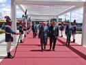 Llegada del canciller Rodolfo Nin Novoa a la reunión del Consejo del Mercado Común