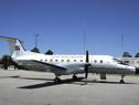 Avión de la Fuerza Aérea que lo llevará a Brasilia