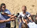 Juan Andrés Roballo dialoga con la prensa