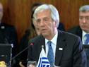 Ahora es el turno de la Unión Europea, que quede claro, añadió Vázquez en la 51.° Cumbre del Mercosur