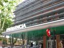 Puerta de emergencia del hospital Pasteur