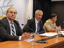 Alejandro Draper, Fernando Longo y Paulo Costa