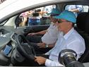 Presidente de UTE, Gonzalo Casaravilla junto a Intendente de Canelones, Yamandú Orsi