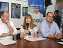Presidenta del Instituto Nacional de Inclusión Social Adolescente (Inisa), Gabriela Fulco, haciendo uso de la palabra
