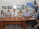 Ministro de Trabajo y Seguridad Social, Ernesto Murro, dirigiéndose a los presentes