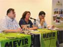 Titular de MEVIR, Cecicila Bianco, haciendo uso de la palabra
