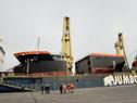 Arribaron a Montevideo los componentes fabricados en Europa de nueva draga de ANP