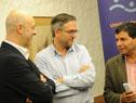 Márcos Carámbula, Rodrigo Arim y Eduardo Pereyra firman el acuerdo