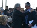 Vázquez arriba a la inauguración del Espacio Memorial Penal de Libertad