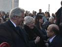 Presidente Vázquez, Azucena Berrutti e Intendente de Montevideo Daniel Martínez