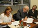 Firma de acuerdo entre el Ministerio de Transporte y el Mercado Agrícola