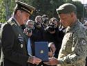 Acto en conmemoración de los 207 años de la creación del Ejército