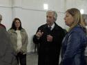 Presidente Tabaré Vázquez es recibido por vecinos de San Luis