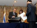 Apertura de las tres ofertas que se presentaron para la recuperación de las vías que comunicarán Paso de los Toros con el puerto de Montevideo
