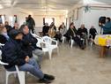 Reunión de autoridades con vecinos en pueblo Sequeira