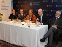 Secretario ejecutivo de Uruguay XXI, Antonio Carámbula, haciendo uso de la palabra