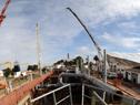 """Construcción de la draga """"21 de Julio"""" de la ANP"""