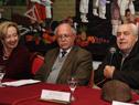 Ministro Víctor Rossi, haciendo uso de la palabra