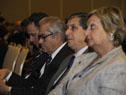Autoridades presentes en la conferencia realizada en Punta del Este