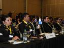 Delegaciones de 37 países y 7 suboficinas que integran la Organización Internacional de Policía Criminal asistieron a la conferencia