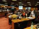 Enzo Benech en Comisión de Presupuesto integrada con Hacienda de Diputados
