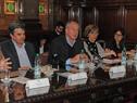 Ministro de Trabajo y Seguridad Social, Ernesto Murro, haciendo uso de la palabra
