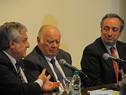 Director de la Oficina Nacional de Servicio Civil, Alberto Scavarelli, haciendo uso de la palabra