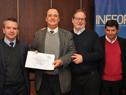 Ceremonia de entrega de certificados del Instituto Nacional de Empleo y Formación Profesional (foto: gentileza de Inefop)