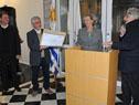 Sergio Mautone, Javier González, María Julia Muñoz y Nelson Inda declaran al edificio monumento histórico