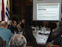 Sesión de la Comisión Honoraria de Puertos referida al 102.º aniversario de la ANP