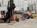 Obras de ampliación de puerto Sauce, Juan Lacaze