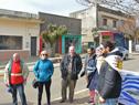 Ministros Cosse y Murro, en Minas de Corrales, junto a trabajadores