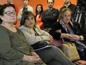 Edith Moraes y Iruppe Buzzetti entre los presentes
