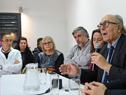 Presidente de ASSE, Marcos Carámbula, haciendo uso de la palabra
