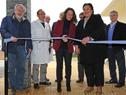 Corte de cinta de inauguración de unidad de salud mental del hospital de San Carlos