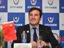 Embajador uruguayo en China, Fernando Lugris