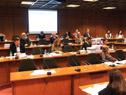 Danilo Astori en comparecencia ante la Comisión de Hacienda integrada con Presupuesto, del Senado