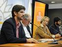 Subdirector de la Oficina de Planeamiento y Presupuesto, Santiago Soto, dirigiéndose a los presentes