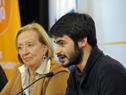 Titular del Instituto Nacional de la Juventud, Federico Barreto, haciendo uso de la palabra