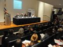 """Mesa del foro """"Iberoamérica y la Agenda 2030, miradas diferentemente iguales del desarrollo sostenible"""""""