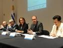 Prosecretario de la Presidencia de la República, Juan Andrés Roballo, haciendo uso de la palabra
