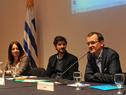 Subsecretario del Ministerio de Industria, Energía y Minería, Guillermo Moncecchi, haciendo uso de la palabra
