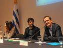 Subsecretario de Industria, Energía y Minería, Guillermo Moncecchi, haciendo uso de la palabra