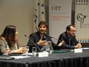 Santiago Soto, subdirector de la Oficina de Planeamiento y Presupuesto (OPP), dirigiéndose a los presentes